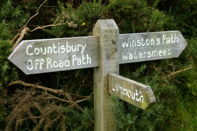 Winston's Path to Watersmeet.