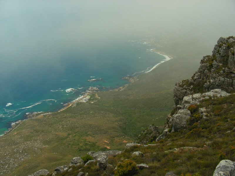 Gazing down towards Oudekraal.